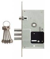 Корпус замка для металлических дверей 10052/L бексет 57 мм. межцентр 85 мм. Siba