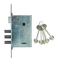 Корпус замка для металлических дверей 11/RLS бексет 50 мм. Siba
