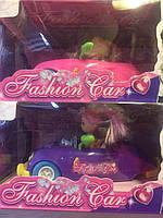 Девочка кукла с машинкой Fashion Car (цвета разные)