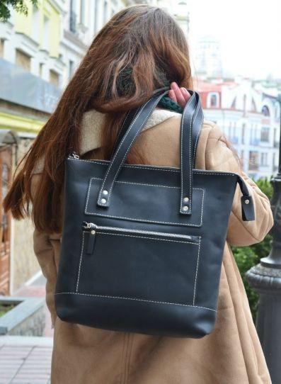Кожаная женская сумка Zippy Babak 858076 черная