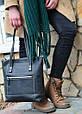 Кожаная женская сумка Zippy Babak 858076 черная, фото 2