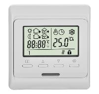 Недельный программируемый терморегулятор In-Term Е51(RTC 80) для теплых полов