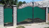 Ворота кованые Магда