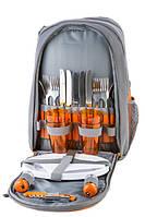 Рюкзак для пикника на 4 персоны GREEN CAMP ORANGE