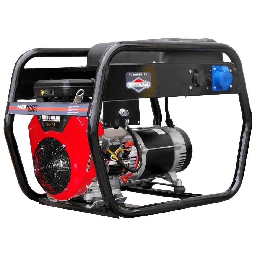 Бензиновый генератор AGT 8000 EAG+