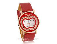 Часы «Яблочная фантазия», женские наручные кварцевые часы, купить