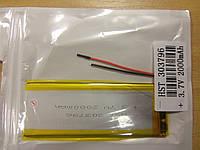 Внутренний Аккумулятор 3*37*98   (2000 mAh 3,7V) 303796  AAA класс в Запорожье