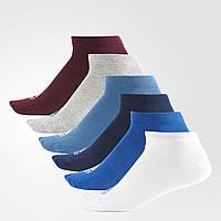Шесть пар носков Adidas Performance No-Show детские, женские и мужские размеры S99896 - 2017