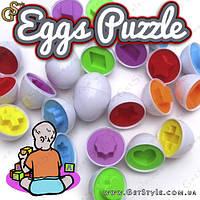 """Игрушка-головоломка - """"Eggs Puzzle"""" - 6 шт. , фото 1"""