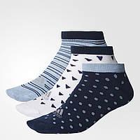 Три пары носков Adidas Performance мужские и женские размеры S99928 - 2017