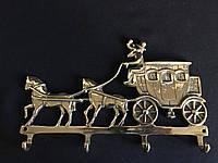 "Ключница - вешалка ""повозка с каретой"" Stilars 90"