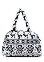 Прекрасная женская сумка-саквояж  из болоньи POOLPARTY ns2-white белый