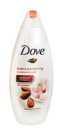 Крем-гель для душа Dove Объятия нежности Миндальное молочко и гибискус - 250 мл.