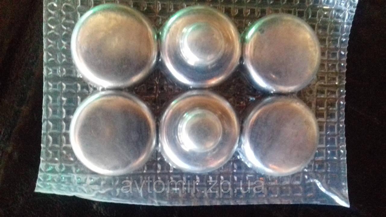 Заглушка ГБЦ  ЗАЗ 1102-1105 (к-кт 8 шт упакованные)