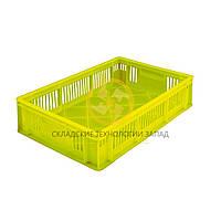 Ящики для перевозки цыплят 600x400x140 Желтый