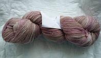 Цветная пряжа Кауни Pink-Beige400 Пряжа из 100% овечьей шерсти подходит для ручного вязания рукоделия кауни