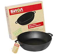 Сковорода чугунная жаровня 03281 на 28 см