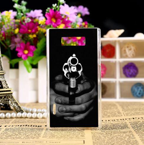Чохол накладка з картинкою (силікон) для LG L7 p700 p705 На прицілі