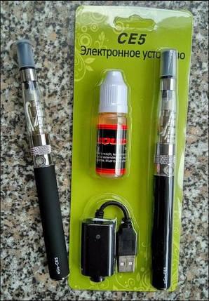 Електронная сигарета eGo СЕ-5 Electronic Cigarette блистер , фото 2