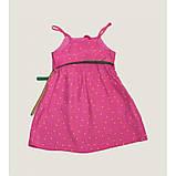 Abito+Cintura сарафан в горошек розовый  ЛЕТО, фото 4