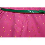 Abito+Cintura сарафан в горошек розовый  ЛЕТО, фото 2