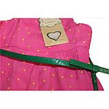 Abito+Cintura сарафан в горошек розовый  ЛЕТО, фото 3