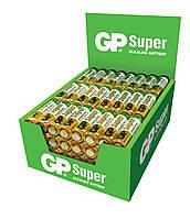 Батарейка GP 24A-S4 Super alkaline LR3 ААA (трей, бокс 96шт.)