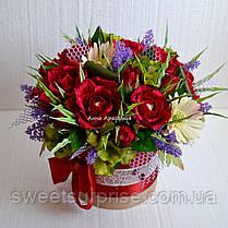 """Букет из конфет  для руководителя """"Розы"""", фото 3"""