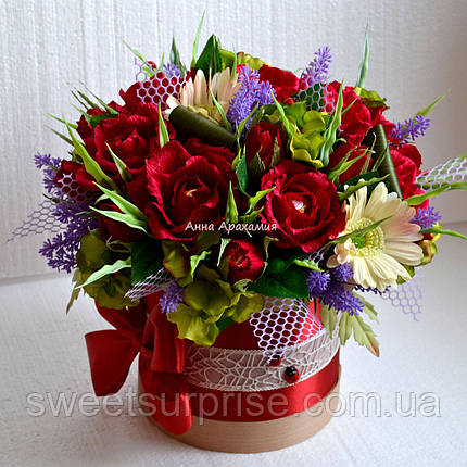 """Букет из конфет  для руководителя """"Розы"""", фото 2"""