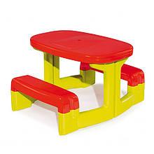 """Игровые площадки «Smoby» (310249) столик """"Пикник"""""""