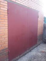 Гаражные ворота листовые (лист 2 мм)