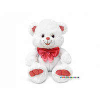 Медведь белый с бантом музыкальный Lava LF544C