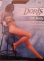 Женские корректирующие колготки Doris OK BODY 40.