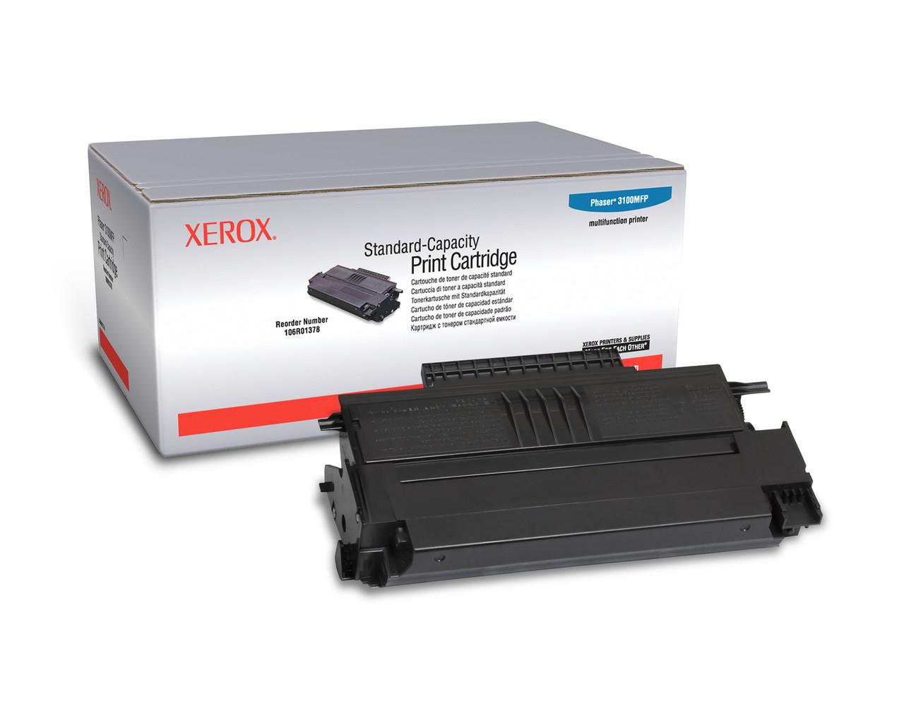 Заправка картриджа Xerox Phaser 3100 (106R01378)