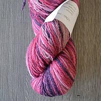 Цветная пряжа Кауни Pink Lila 800 Пряжа из 100% овечьей шерсти подходит для ручного вязания рукоделия
