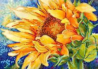 Набор для вышивки бисером Солнечное утро, размер 21х15 см, арт. 1402