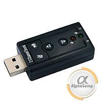 Звуковая карта USB 2.0 (3D регулировка звука)