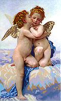 "Набор для вышивки бисером POINT ART Вильям Бугро ""Амур и Психея. Дети"", размер 30х50 см, арт. 1533"