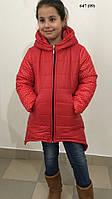 Зимнее детское пальто - куртка 647 (09)