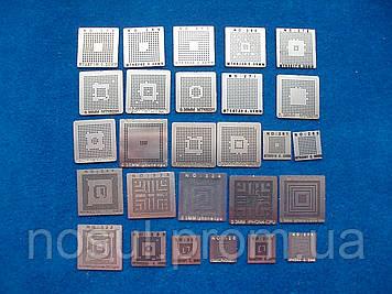 Комплект трафаретов MTK, BGA шаблоны 27 шт для мобильного телефона, для iPhone