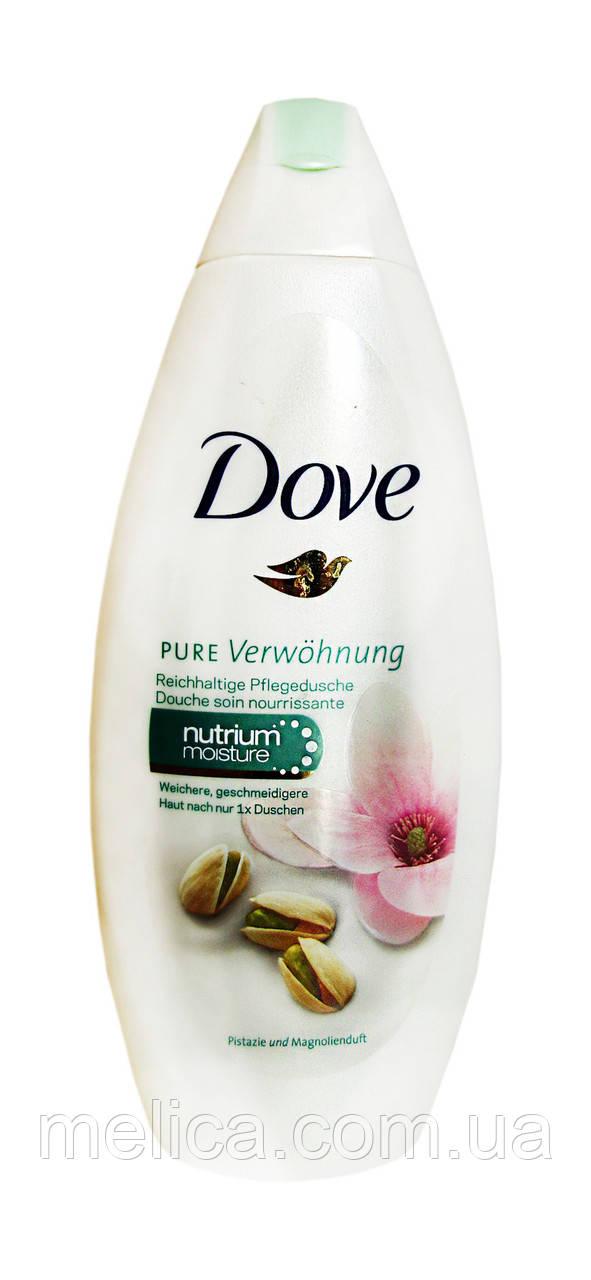 Крем-гель для душа Dove Объятия нежности Фисташковый крем и аромат магнолии - 250 мл.