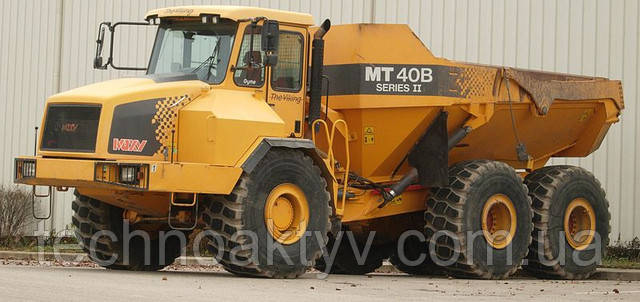 Самосвал Moxy MT 40B II, продукция Doosan, Цинциннати, США