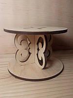 Подсвечник деревянный на подарок, сувенир, романтический вечер, для декора помещения