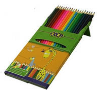 Карандаши цветные, 18 цветов, TM ZIBI ,ZB.2402