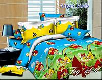 Детское постельное белье Angry birds 1,5-спальное