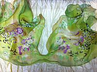 Шейный платок-галстук шифон длина 139 см