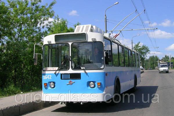 Скло переднє (лобове)на тролейбус ЗИУ9