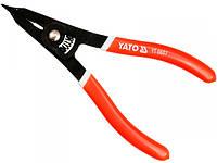 YATO Щипці розпорні для зтягуючих хомутів, l= 225 мм