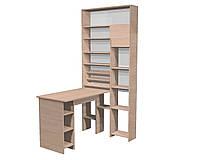 Маникюрный стол шкаф Лафайетт Дуб молочний