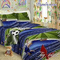 Детское постельное белье Футболист 1,5-спальное